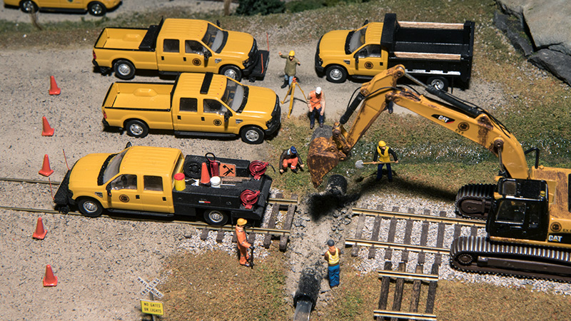 Alaska Railroad Track Repair