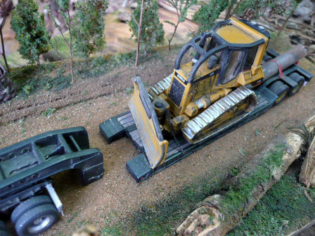 Caterpillar D5 Logging Dozer