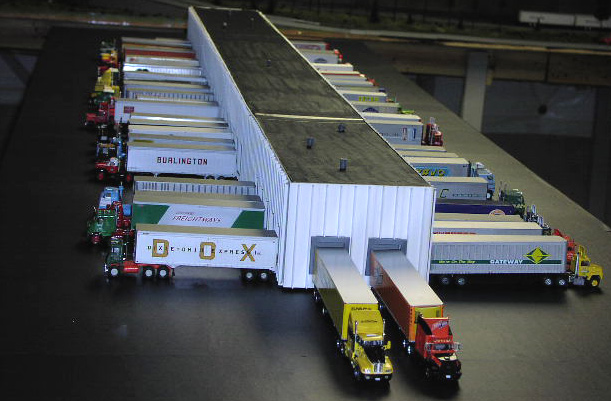 Truck Warehouse Terminal