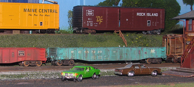 Burlington Northern Dodge Monaco Rail Inspection Vehicle