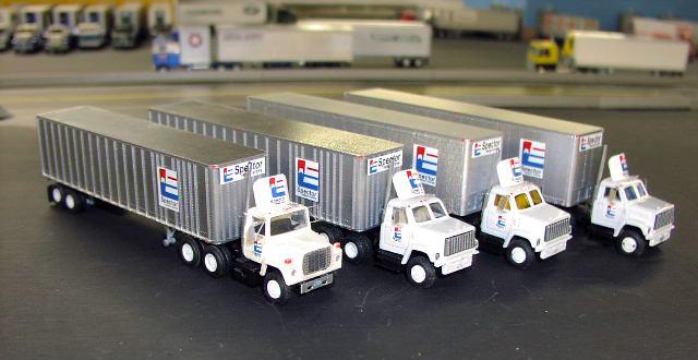Ford Atlas Truck >> Spector Freight System Fleet
