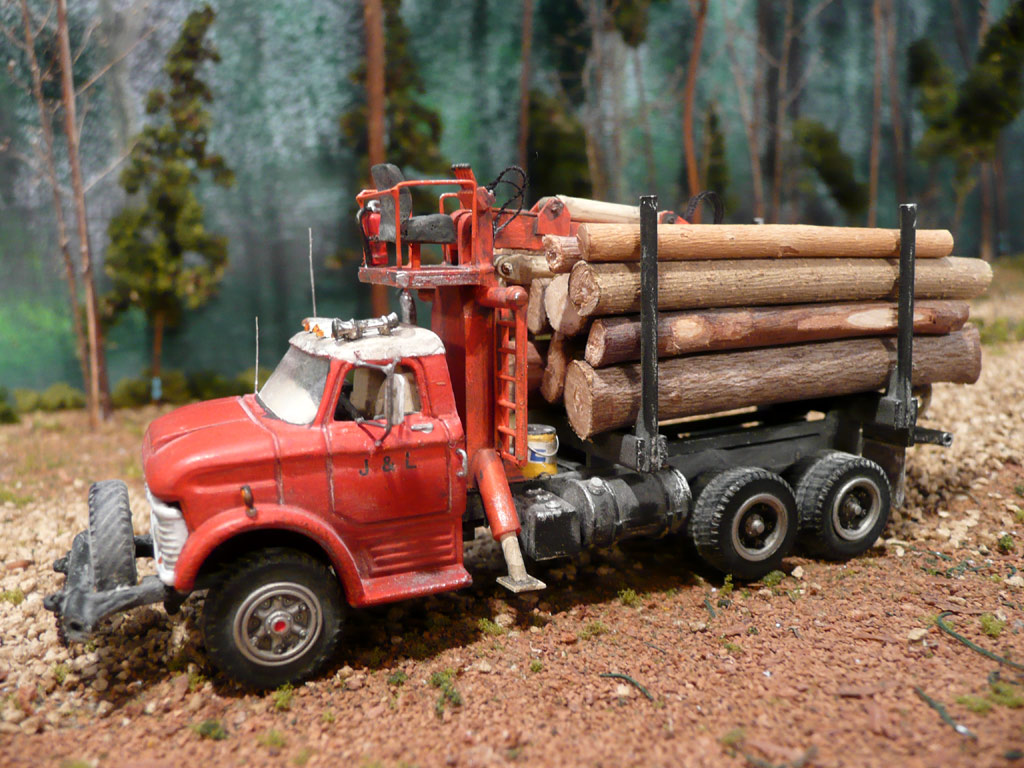 Ford Nt 950 Logging Truck