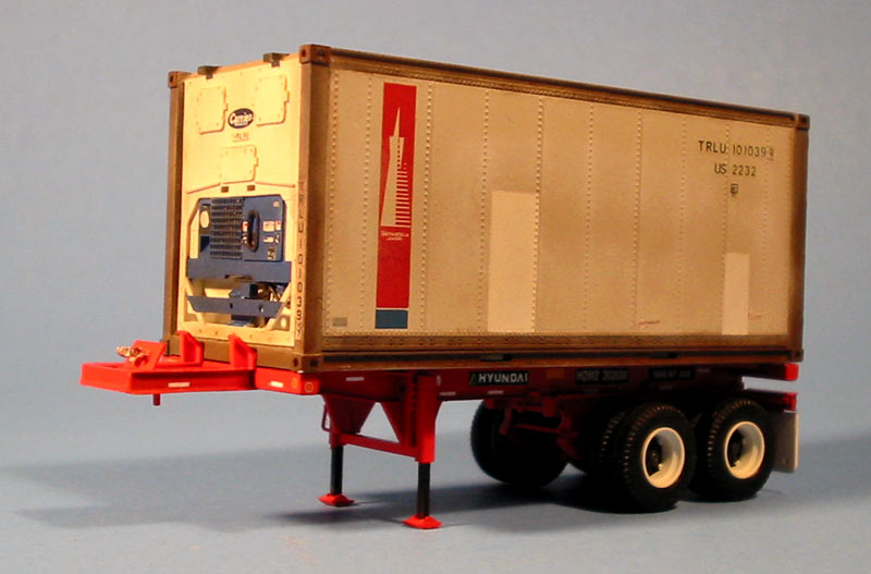 Hyundai Of Anderson >> 20' Reefer Container & 23' Chassis