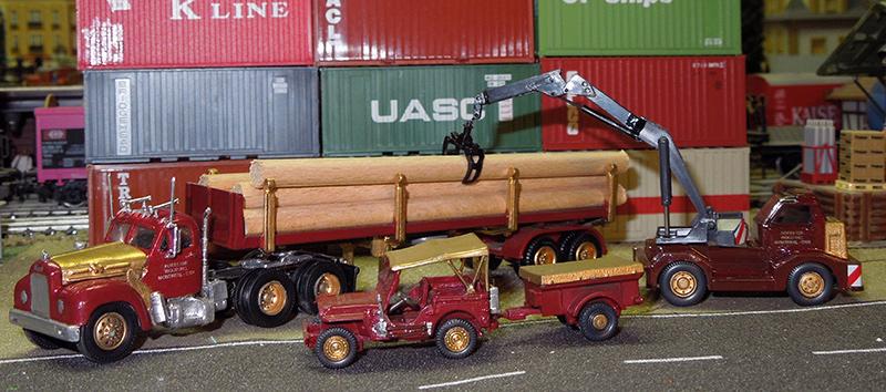 Mack B-61 Logging Truck