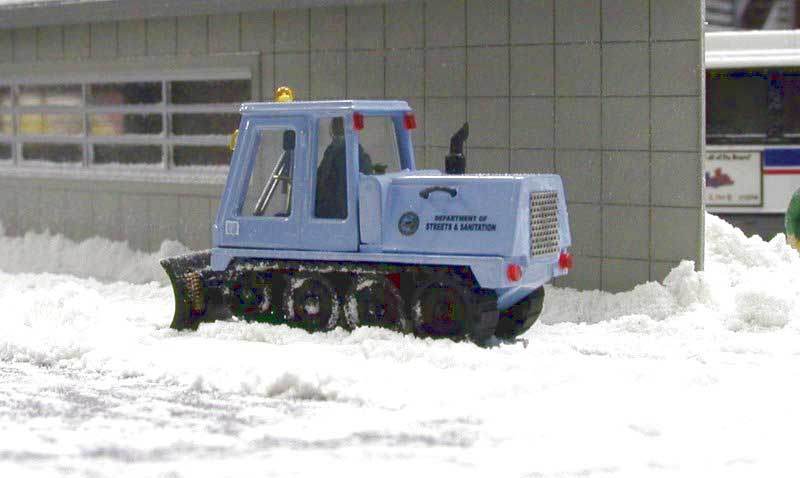 Chicago Streets & Sanitation Bombardier SW48 Tracked Plow