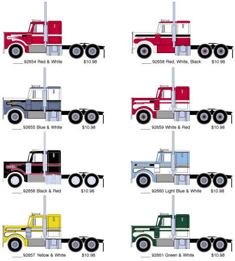 Kenworth Trucks Colors