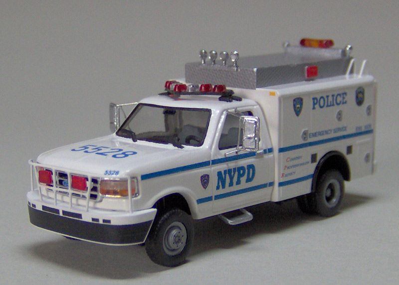 1998 Ford F250 >> NYPD Ford F-350 Emergency Services Unit