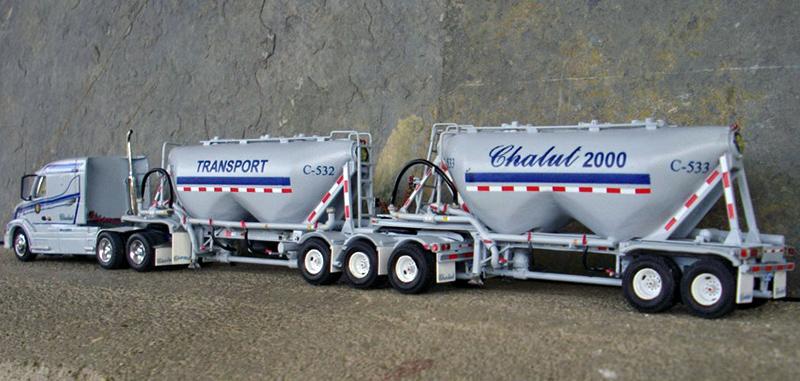 Transport Chalut 2000 Volvo 42T630 Truck Tractor ...